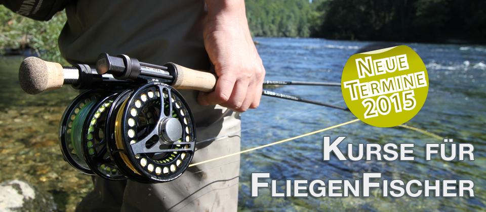 FLIEGENFISCHERKURSE - FLIEGENFISCHEN lernen ÖSTERREICH - Fliegenfischen für Anfänger - Zweihandkurs - ONLINE SHOP