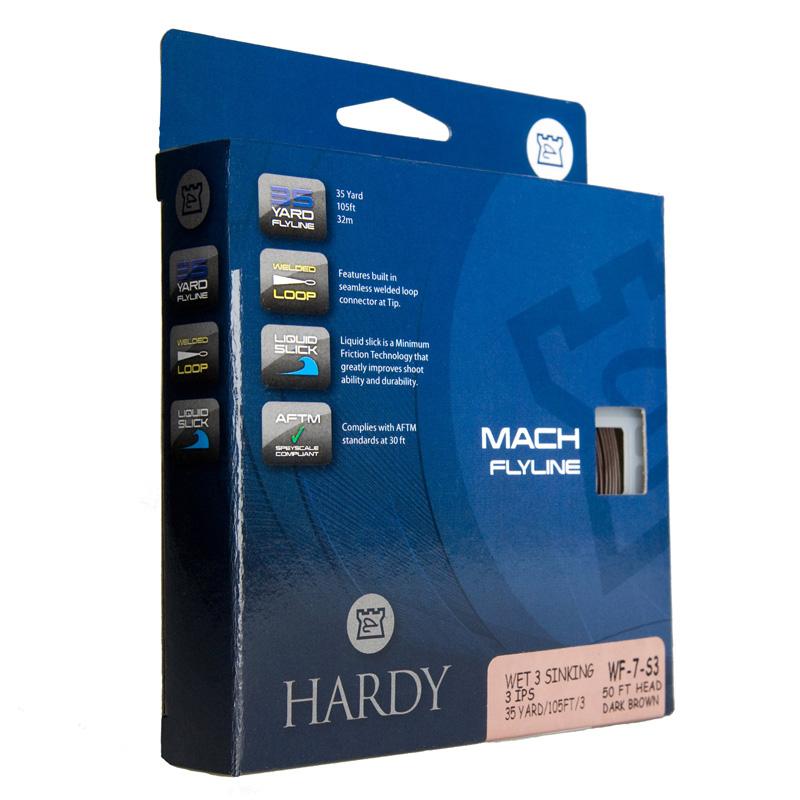 Hardy Mach Trout Flyline, float