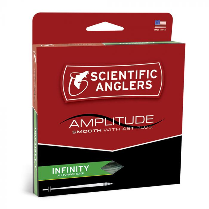 NEW SCIENTIFIC ANGLERS AMPLITUDE SMOOTH BONEFISH FLY LINE saltwater taper