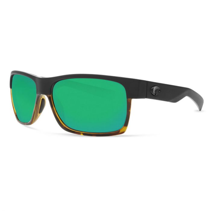 NEW FISHERMAN EYEWEAR TERN TORTOISE FRAME GREEN MIRROR LENS polarized sunglasse