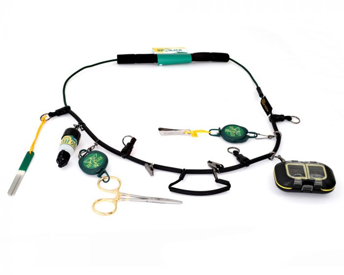 Dr Slick Fly Box for Lanyard Necklace Waterproof Fly Fishing NECK//BOX