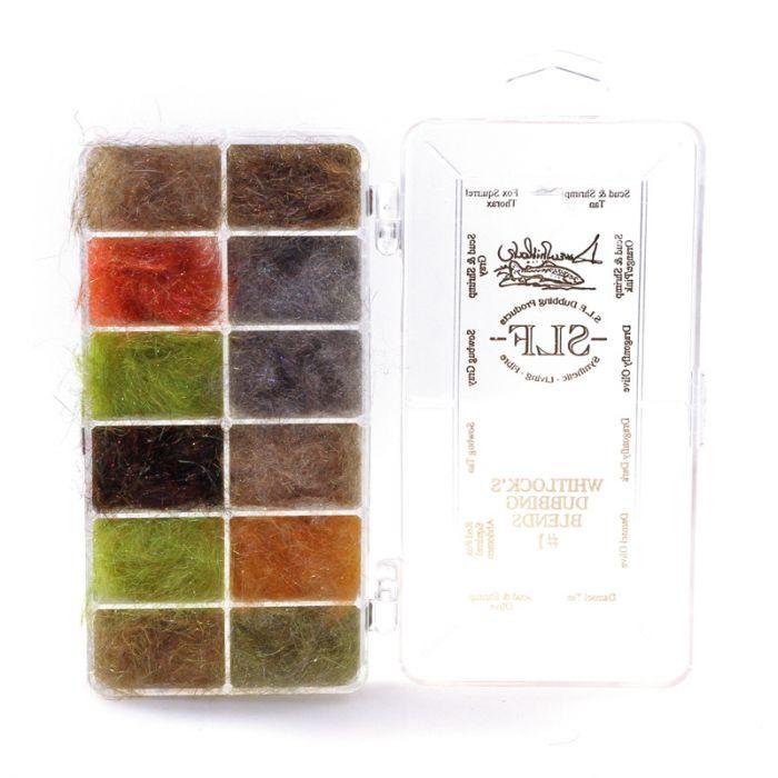 Whitlock´s Dubbing Blends #2 Dispenser 12 Farben SLF Dubbing Blends #2