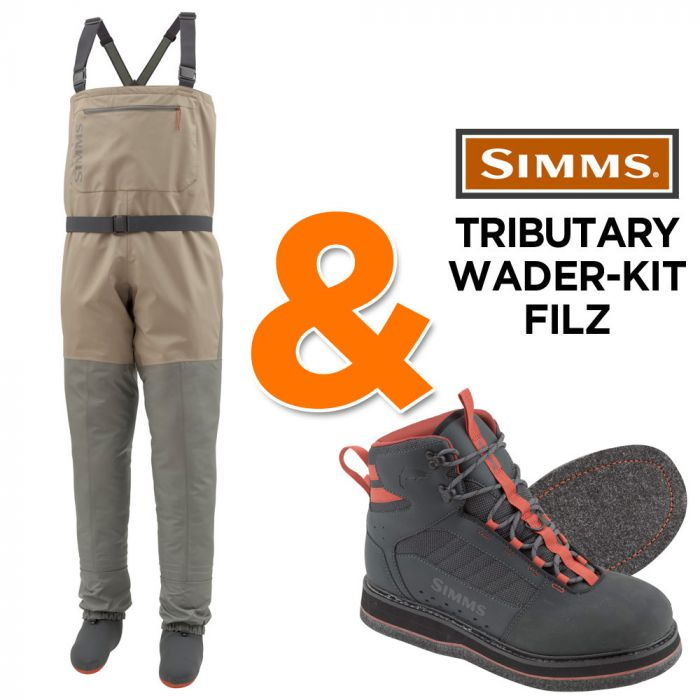 Simms Tributary Wading Kit Waders Wading Boots