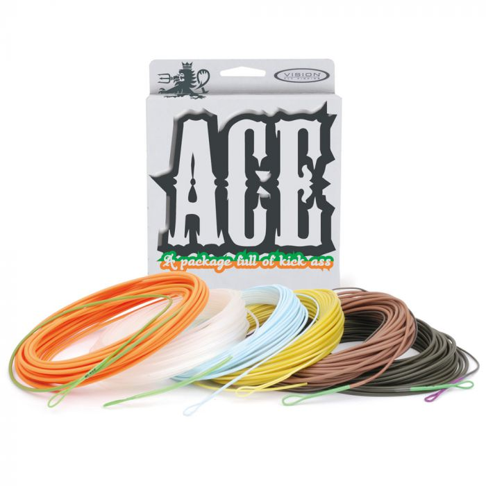 Vision ACE 2 running line DH rods salmon fly fishing