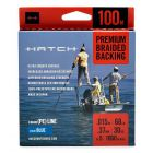 Hatch Premium Braid Backing 68 lbs., blau