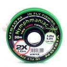 Vision Nymphmaniac Two Tone Tippet / Vorfachmaterial zum Nymphenfischen