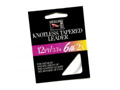FM Knotless Tapered Leader | 12 ft.
