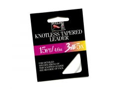 FM Knotless Tapered Leader | 15 ft.