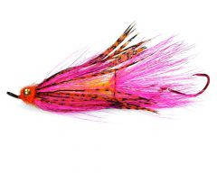 BC Steelhead Jumbo Critter, pink & orange