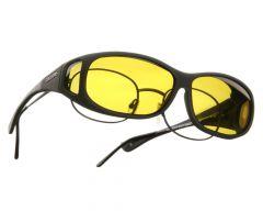 yellow lenses / black frame