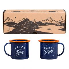Wild & Wolf Enamel Espresso Set