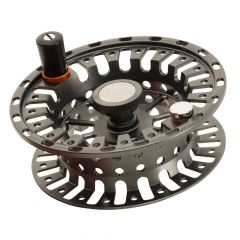 Hatch Finatic Gen2 Fly Reel, gold, back