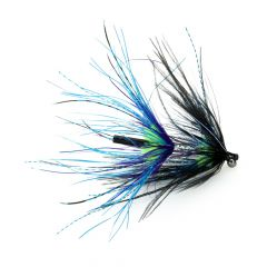 CK Steelhead Intruder Tube, black, blue & chartreuse