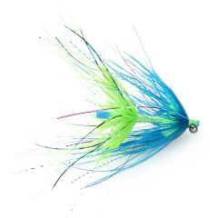 CK Steelhead Intruder Tube, blue & chartreuse