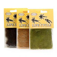 Life Cycle Dubbing für Caddis, Steinfliegen und Eintagsfliegen