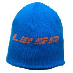 Loop Reversible Beanie, blue orange