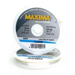 Maxima Clear Tippet, Nylon per finali e terminali
