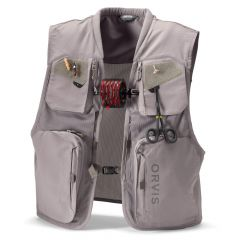 Orvis Clearwater Mesh Fly Vest, storm grey