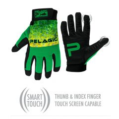 Pelagic End Game Pro Gloves, dorado green