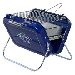 Wild & Wolf Large Portable BBQ, blue