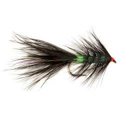 Rozas Black & Green Streamer, widerhakenlos