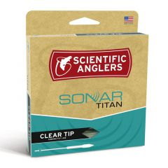 Scientific Anglers Sonar Titan Fly Line, clear tip