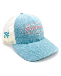 Scott Womens Teal Mesh Hat Cap