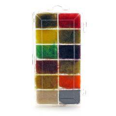 Seal Dubbing Dispenser - 12 Farben
