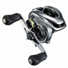 Shimano Metanium DC 101HG Baitcast Reel, left handle