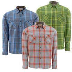 Simms Blacks Ford Flannel LS Shirt
