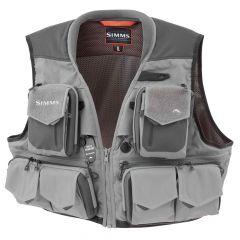 Simms G3 Guide Vest 2018, steel