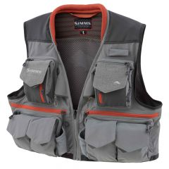 Simms Guide Vest 2018, steel