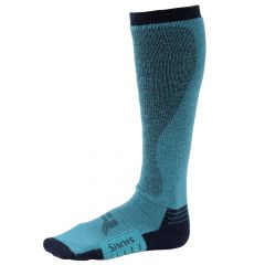 Simms Womens Guide Midweight Sock, lagoon