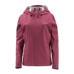 Simms Womens Waypoints Jacket, garnet