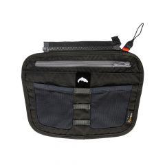 Simms Zip-In Tippet Tender Pocket Vorfach Tasche, carbon