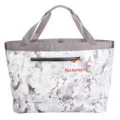 Simms Dry Creek Simple Tote Watzeugtasche - 50L, Cloud Camo Grey