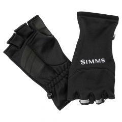 Simms Freestone Half Finger Gloves, black