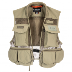Simms Tributary Fly Vest, tan