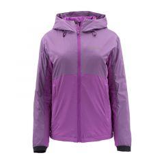 Simms Womens MidCurrent Hooded Jacket, phlox