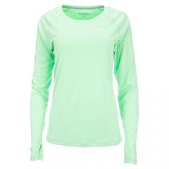 Simms Damen Solarflex Crewneck Shirt, melon
