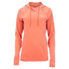 Simms Donna Solarflex Hoody, smoked salmon heather