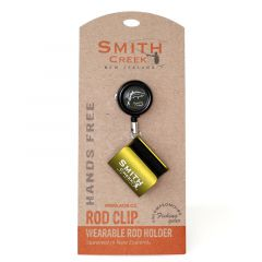 Smith Creek Rod Holder with zinger, moss