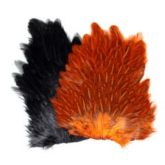 Soft Hackle Hen Saddle Patches