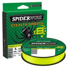 SpiderWire Stealth Smooth X8 Fishing Line, hi-vis yellow