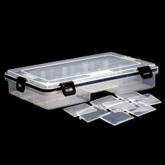 Wasserdichte Tackle-Köderbox, #L mit Unterteiler