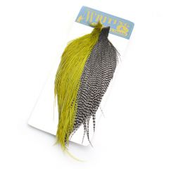 Whiting Combo Starter Cape, dun grizzly / white dun olive