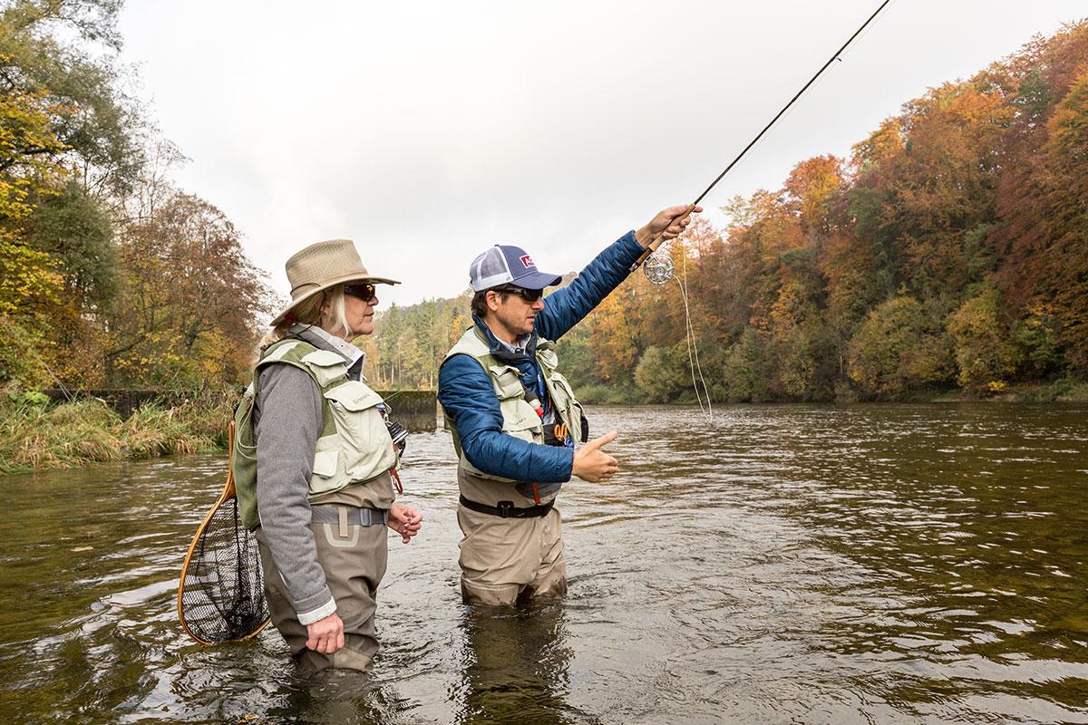 Fliegenfischen lernen | Private Guiding