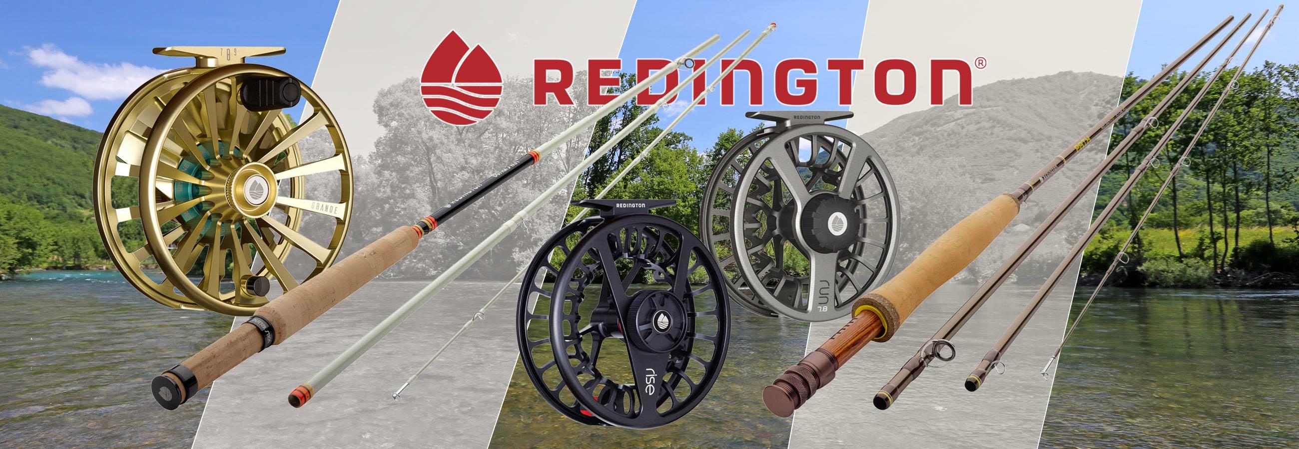 Redington Fliegenruten und Fliegenrollen
