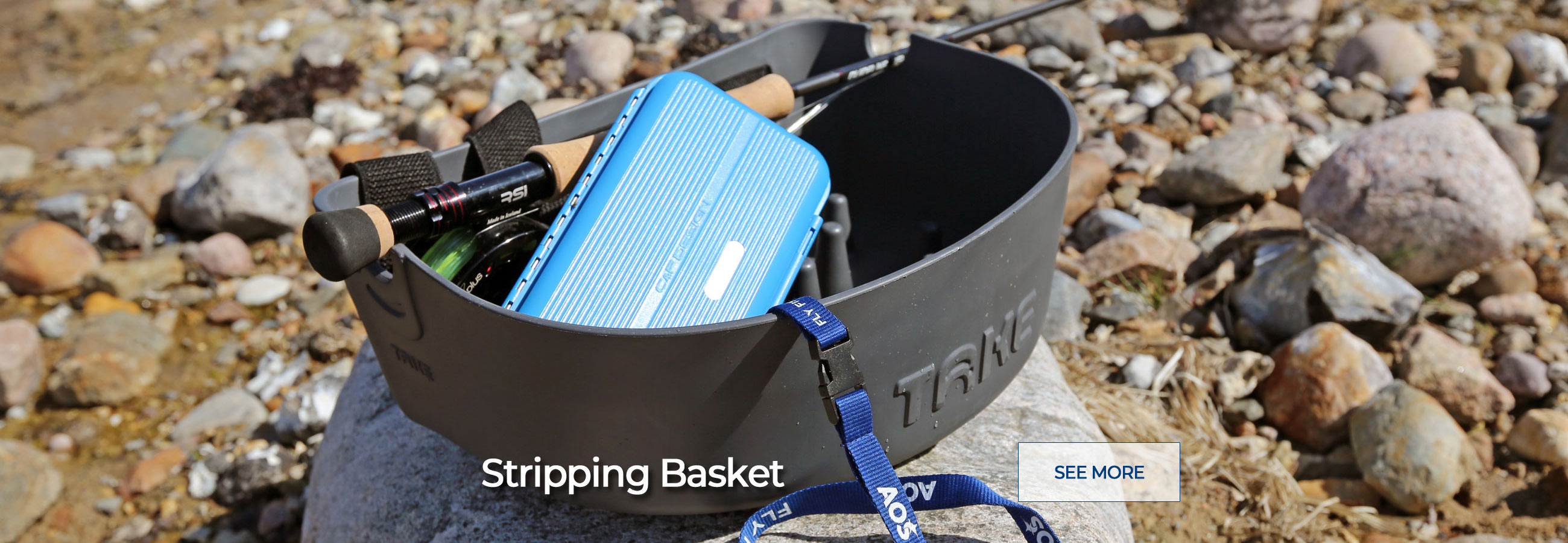 The best Stripping Basket for Fly Fishing! Buy Online - FREE Delivery on orders over € 100