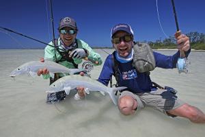Astove Seychellen. Fliegenfischen auf der kleinen Insel mit den großen GT's